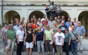 Gruppenbild der Mitarbeiterinnen und Mitarbeiter in Italien